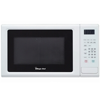 Magic Chef MCM1110W Microwave Oven 1.1 cu ft 1000 Watts