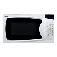 Magic Chef MCM770W Microwave 700-Watt with Digital Touch