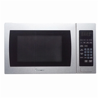 Magic Chef MCM990ST Microwave Oven Countertop 900 Watt Stainless Steel