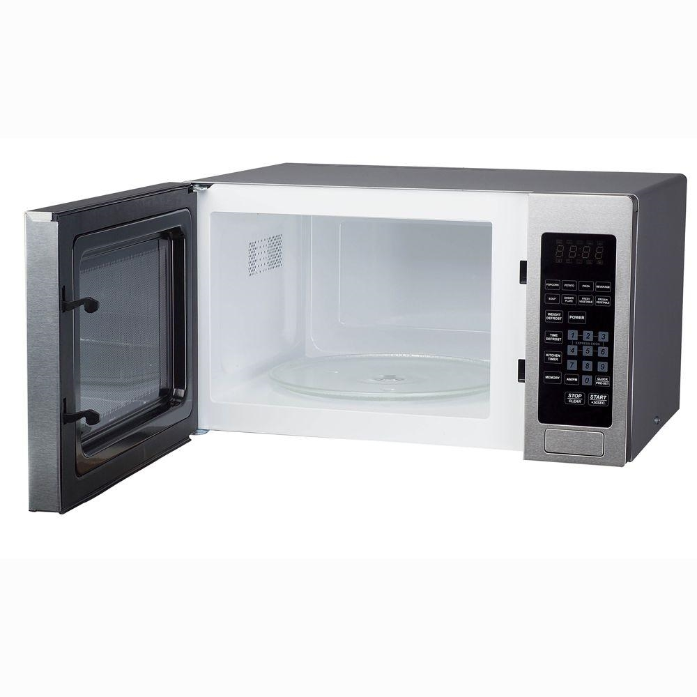 Magic Chef MCM990ST Microwave Oven Countertop 900 Watt