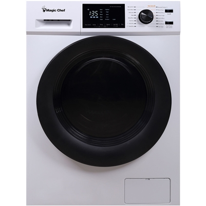 "Magic Chef MCSCWD27W5 2.7 Cu Ft 24"" Combo Washer Dryer Ventless 115 Volts"