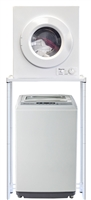 Magic Chef 1.6 Cu Ft Compact Portable Washer Dryer Combo Set 120 Volt
