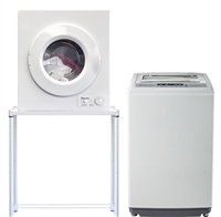 magic chef 21 cu ft compact portable washer dyer combo set 120 volt