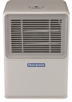 Norpole NPDH30 Portable Dehumidifier 30-Pint Energy Star