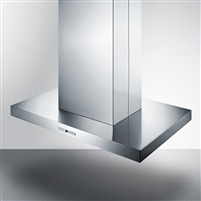 "Summit SEIH4636CV4 36"" Island Mount Range Hood Stainless Steel"