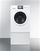 Summit 15lbs Combo Washer Dryer Ventless 120 Volt With Pedestal