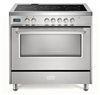 "Verona Designer Series VDFSEE365SS 36"" Electric Range Oven Convection Stainless Steel"