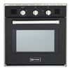 "Verona VEBIG24NE 24"" Single Gas Wall Oven Black"