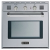 "Verona VEBIG24NSS 24"" Single Gas Wall Oven Stainless Steel"