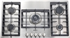"Verona VECTGM365SS Designer Series 36"" Gas Cooktop Stainless Steel"