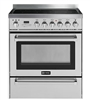 "Verona VEFSEE304PSS 30"" Electric Range 4 Element Convection Oven Stainless Steel"