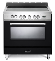 "Verona VEFSEE365E 36"" Electric Range Convection Oven Black"