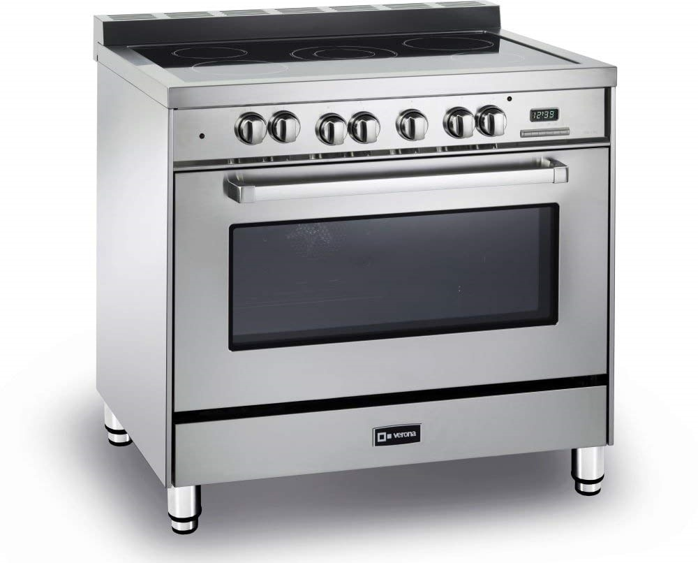 36 Electric Range >> Verona Vefsee365ss 36 Electric Range Convection Oven Stainless Steel