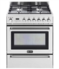 "Verona VEFSGE304PSS 30"" Pro-Style Dual-Fuel Range Warming Drawer Stainless Steel"