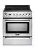 "Verona VEFSIE304PSS 30"" Induction Range Oven Convection Self-Cleaning Stainless"