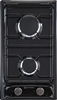 "Verona VEGCT212FE 12"" Gas Cooktop with 2 Sealed Burners Black"