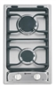 "Verona VEGCT212FSS 12"" Gas Cooktop with 2 Sealed Burners Stainless Steel"