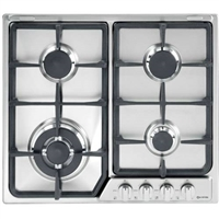 "Verona VEGCT424FSS 24"" Gas Cooktop with 4 Sealed Burners"