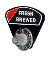 """Fresh Brewed"" Velcro Coffee Timer"