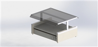 Econo Sneezeguard Canopy for 24/30 Size Grills