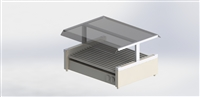 Econo Sneezeguard Canopy for 75 Size Grills