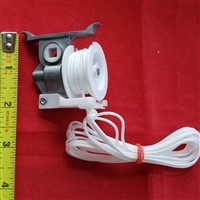 "2"" Cord Tilter, SQUARE hole. High Profile. Precorded, White"