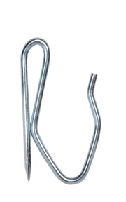 Stainless Steel Heavy Duty Drapery Pin Hook for Drapes & Curtains