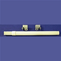 Sheer Curtain Rod Kits. Extendable