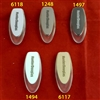 SET. Hunter Douglas Designer Tassel. Oval shape with Clear Base. 2931556