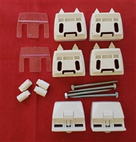 WALL mount. Luminette Installation Brackets KIT. Pack of 2. KIT8000