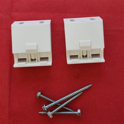 CEILING Mount. Luminette Installation Brackets KIT. Pack of 2. KIT8005