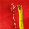 "HIDDEN Valance Clip for Wood, Faux Wood Blind. 2.5"" spacing. 7007845000"