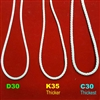 D30 Cordloop for shades. Natural Color. Apprx 2.7mm thick