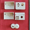 Vertical End Control, #10 bead, Reduced Gear, Rectangle Shape . For Hunter Douglas Vertical Blind. IPD0684