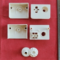 Vertical End Control, #10 bead, Reduced Gear, Rectangle Shape . For Hunter Douglas Vertical Blind