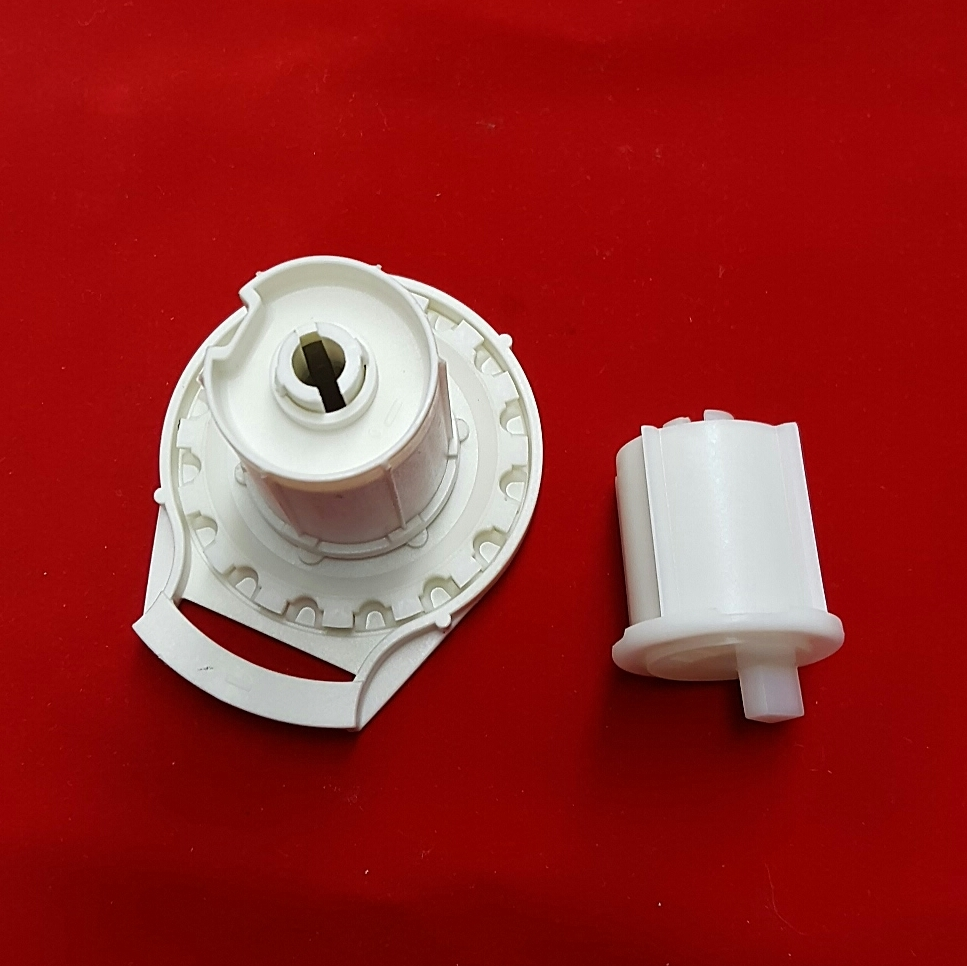 Clutch Amp End Plug Set For Roller Screen Shade R16 Black