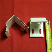 "KIT. 3/8"" Installation Brackets for Hunter Douglas Easyrise. Pack of 2. KIT2340"