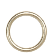 "Drapery Ring, Brass, 3/8"" diameter.  For roman & natural shades. DRP201"
