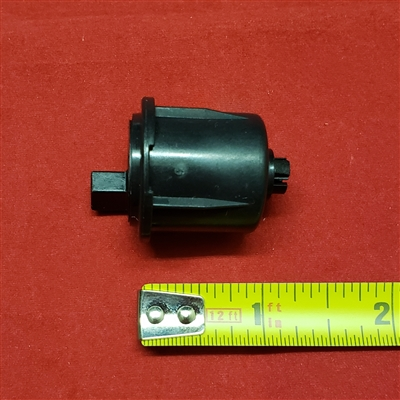 "PIN END for R-series Clutch, TAB mount. Rollease. Fit 1.125"" tube."