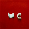 2pack. Plastic Cord Clip for Clutch Rod using 0.9mm string. C Shape. CSCC. RW21