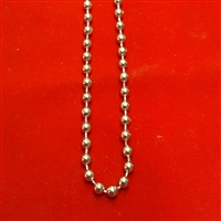 Metal Bead Chain Loop, size #10. Nickel. For Roman Shade, Roller Screen. BCL23, BCL24, BCL25