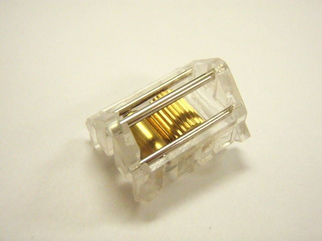 Cord Lock Mini Blind Clear Plastic With Brass Wheel Gear