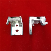 "KIT: 1"" Installation Brackets for Mini Blinds. Spring Loaded with Clear Plastic Top. Pack of 2."
