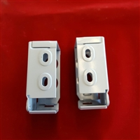 "2"" Installation Brackets. Low Profile. Pack of 2. White"