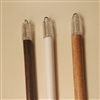 "Wood Wand 30"" long with Hook & Sleeve. Hunter Douglas. Color: White, Oak, Walnut"