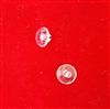 Snap Pin. Clear. For Duette Vertiglide Fabric Carrier made before 2005