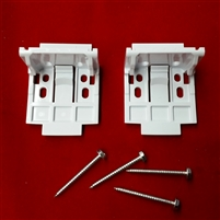 DISCONTINUED. KIT.  Replace with 5352. Vignette Installation Brackets. Plastic. Pack of 2