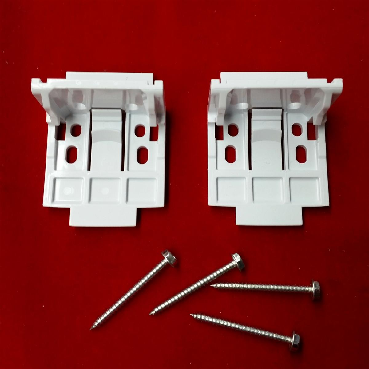 Kit Vignette Installation Brackets Plastic Pack Of 2