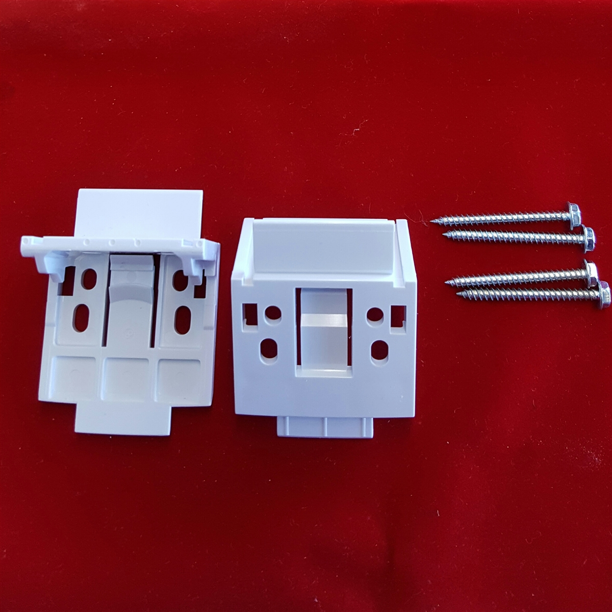Kit Vignette Installation Brackets Plastic Pack Of 2