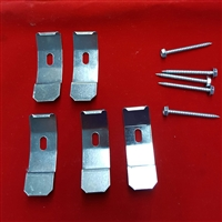 KIT: 5 MOUNTING CLIPS FOR  VERTICAL BRACKET. KIT5008